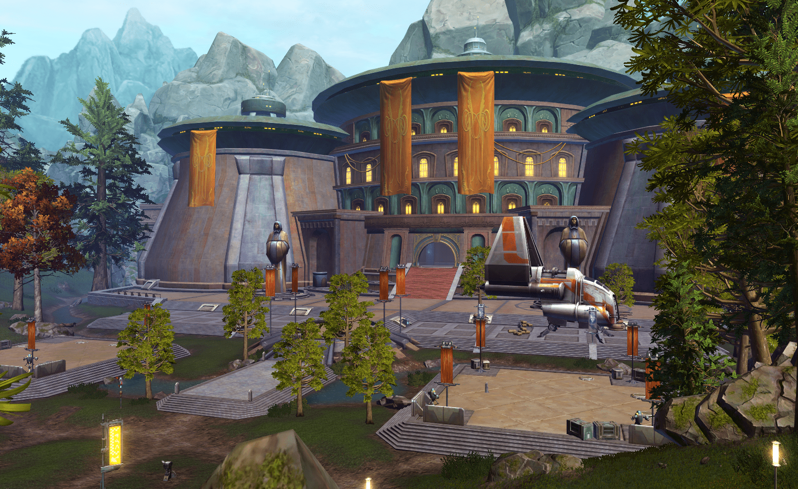 The Mandalorian Season Two The Jedi Tython Temple