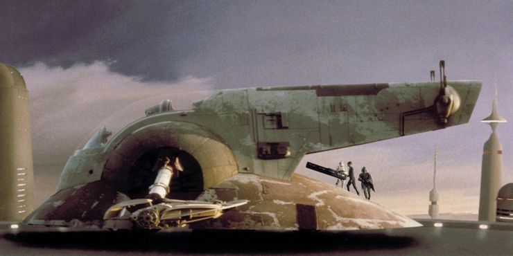 Mandalorian Season Two The Tragedy Easter Eggs Slave 1 ship