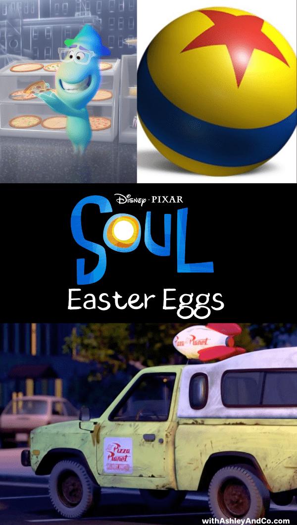 Pixar Soul Easter eggs