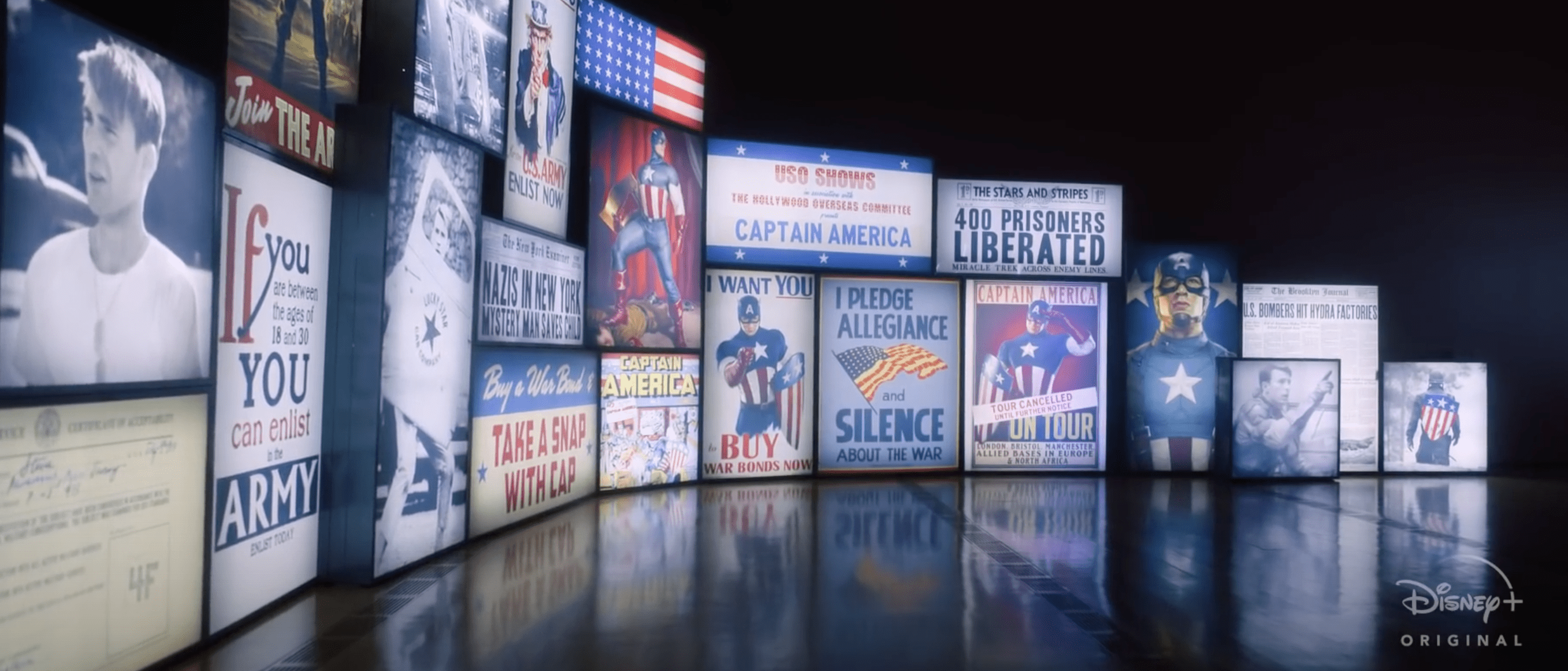 Captain America's Shield In The Smithsonian