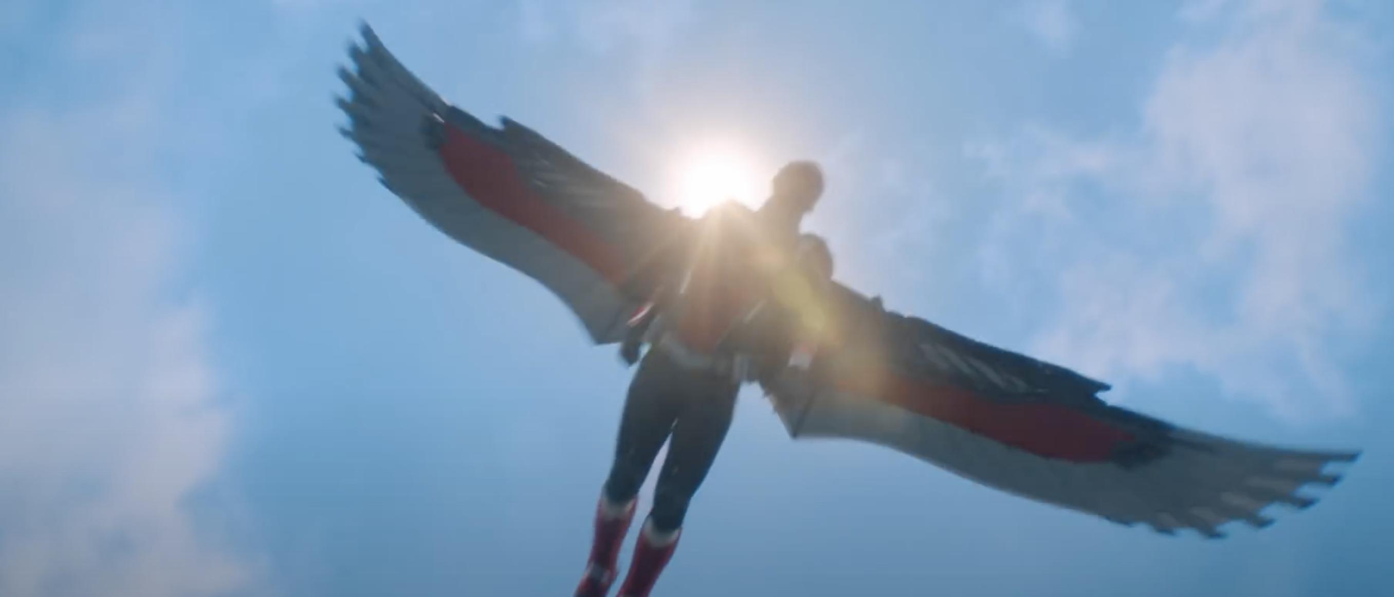 falcon new suit