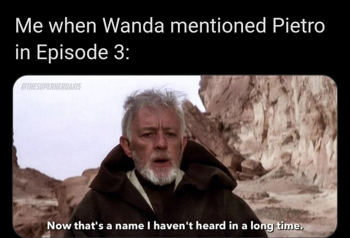 WandaVision Memes Star Wars