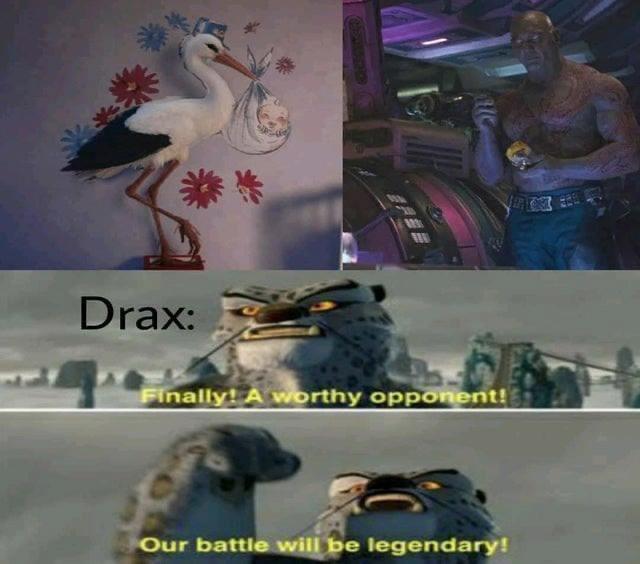 WandaVision Memes Drax