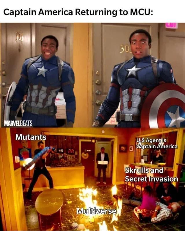 WandaVision Memes Captain America