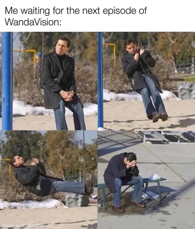 WandaVision Memes the office