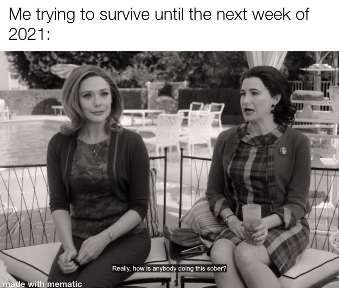 WandaVision Memes Agnes