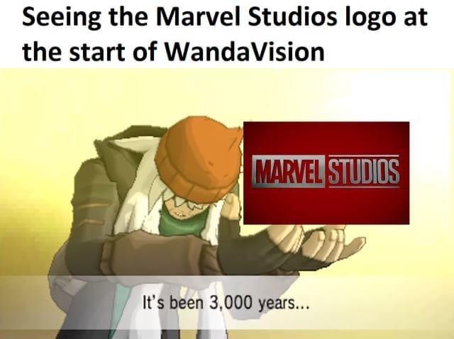 WandaVision Memes marvel logo