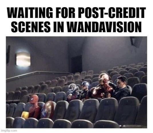 WandaVision Memes end credit