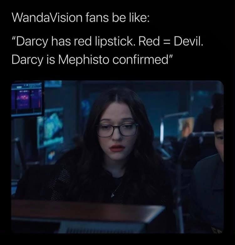 WandaVision Memes Darcy Mephisto