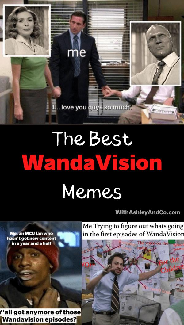WandaVision Memes Pin