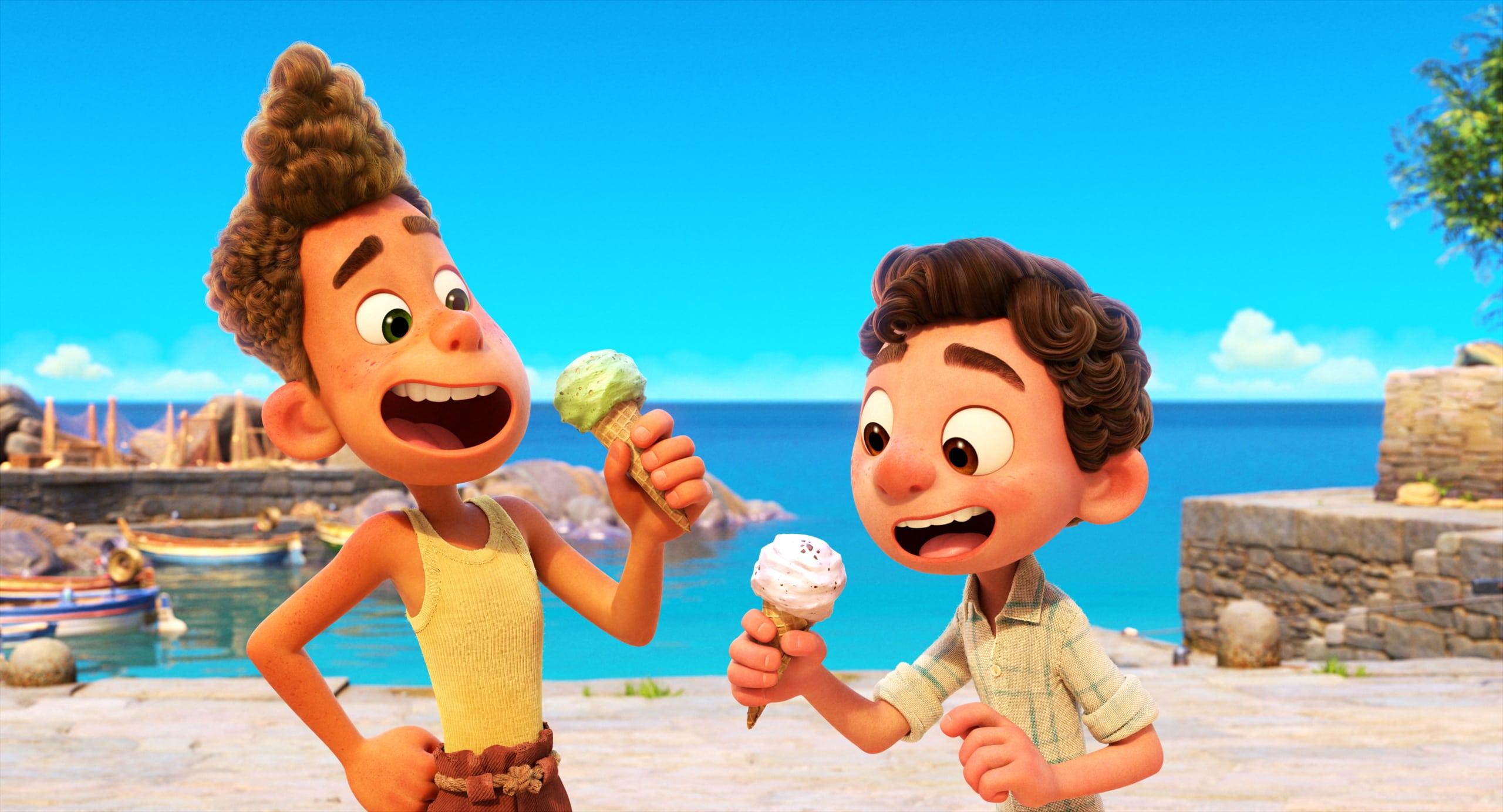First Look At Disney Pixar Luca