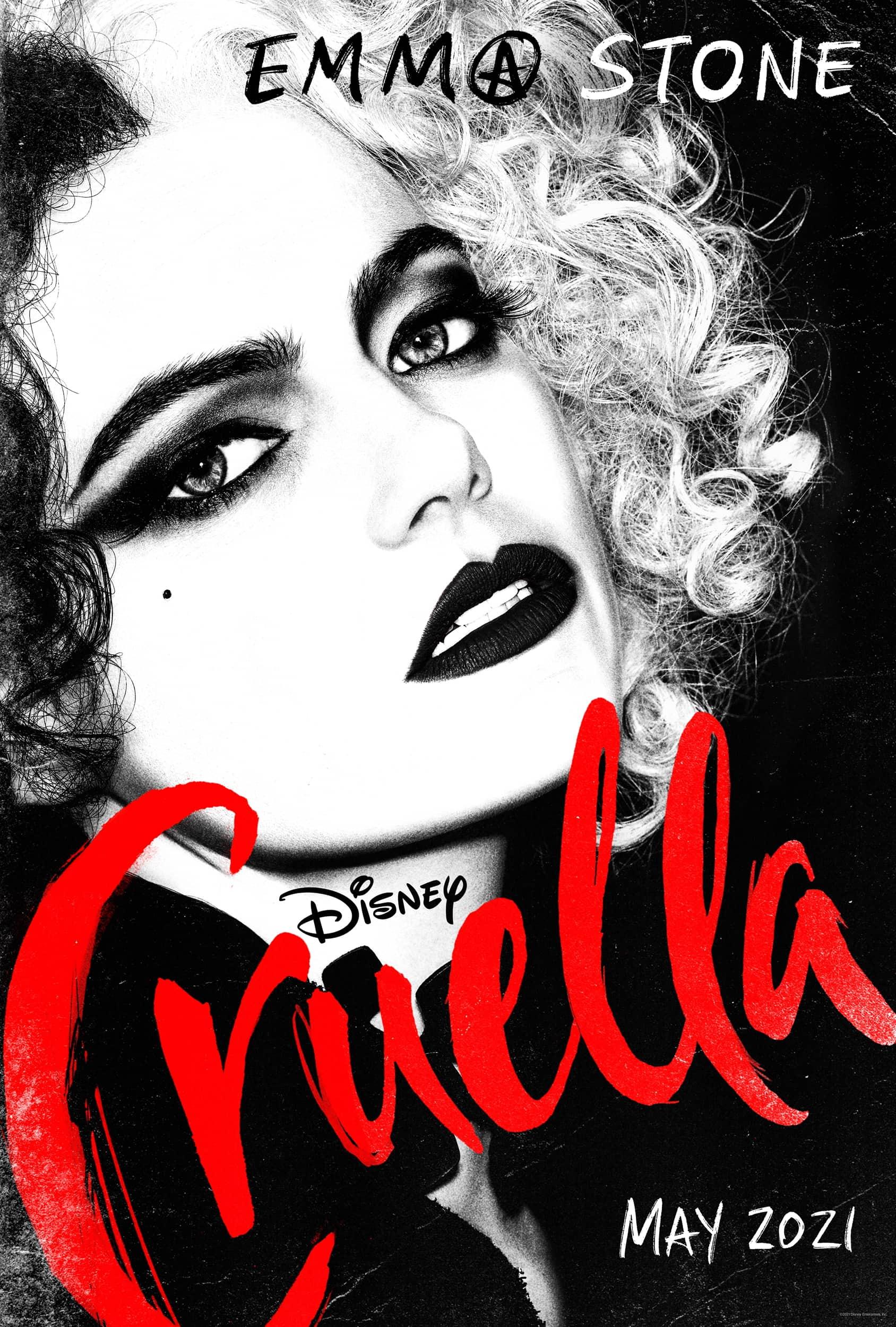 Cruella Teaser Poster Trailer