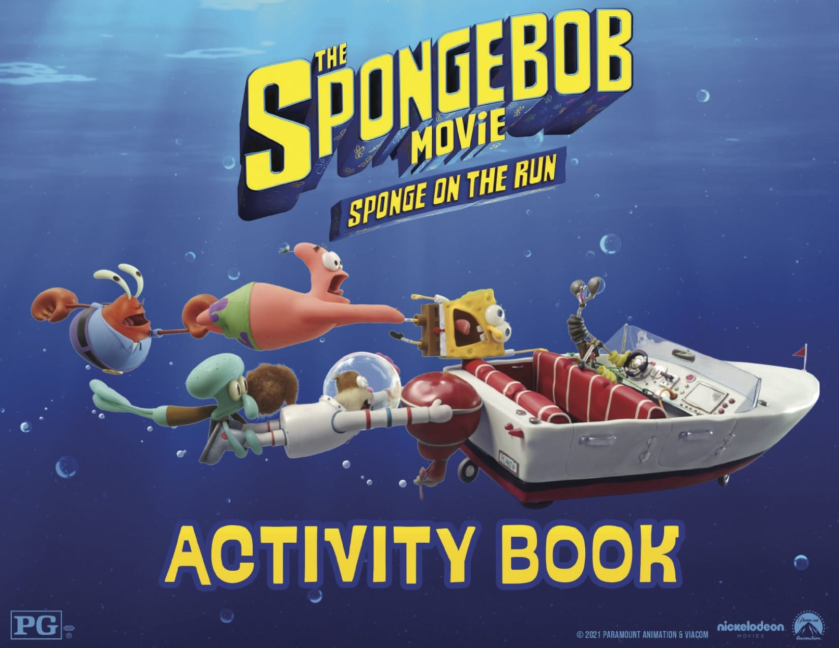 The SpongeBob Movie Free Printable Activities