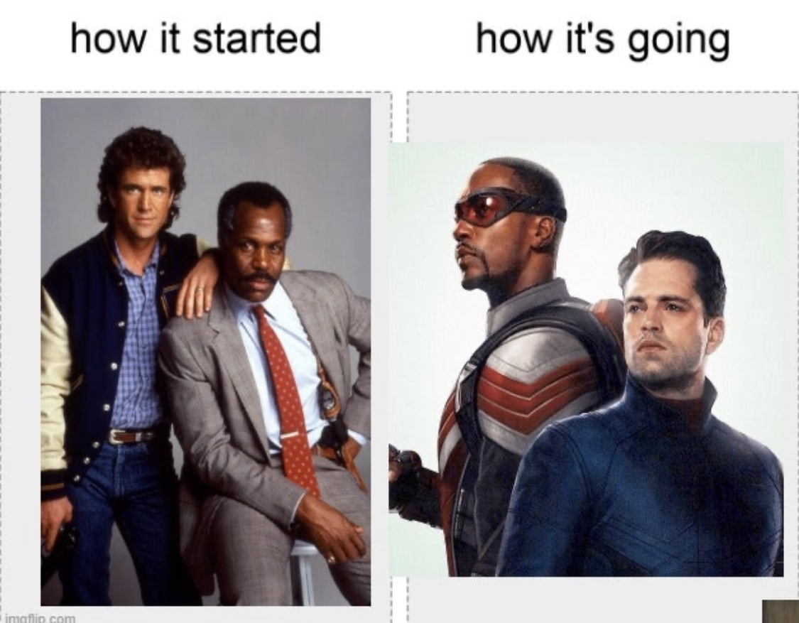 falcon and the winter soldier memes how it started