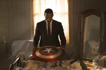 Falcon and Winter Soldier Episode 1 Easter Eggs Sam with Shield