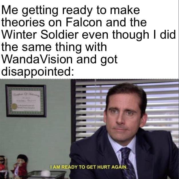 falcon and winter soldier memes fan theories