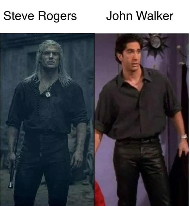 falcon and winter soldier memes john walker vs steve rogers