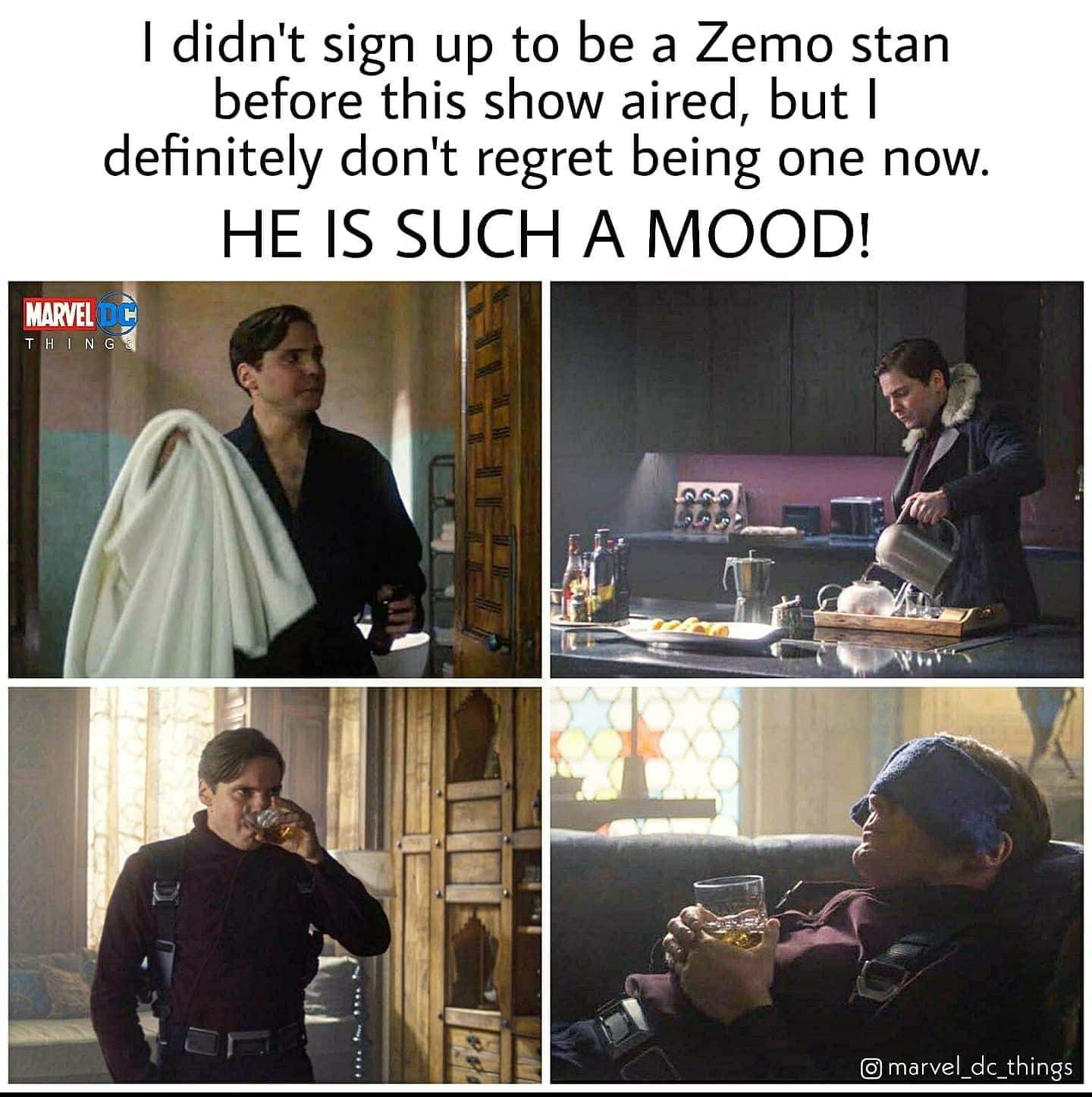 falcon and winter soldier memes zemo is a mood