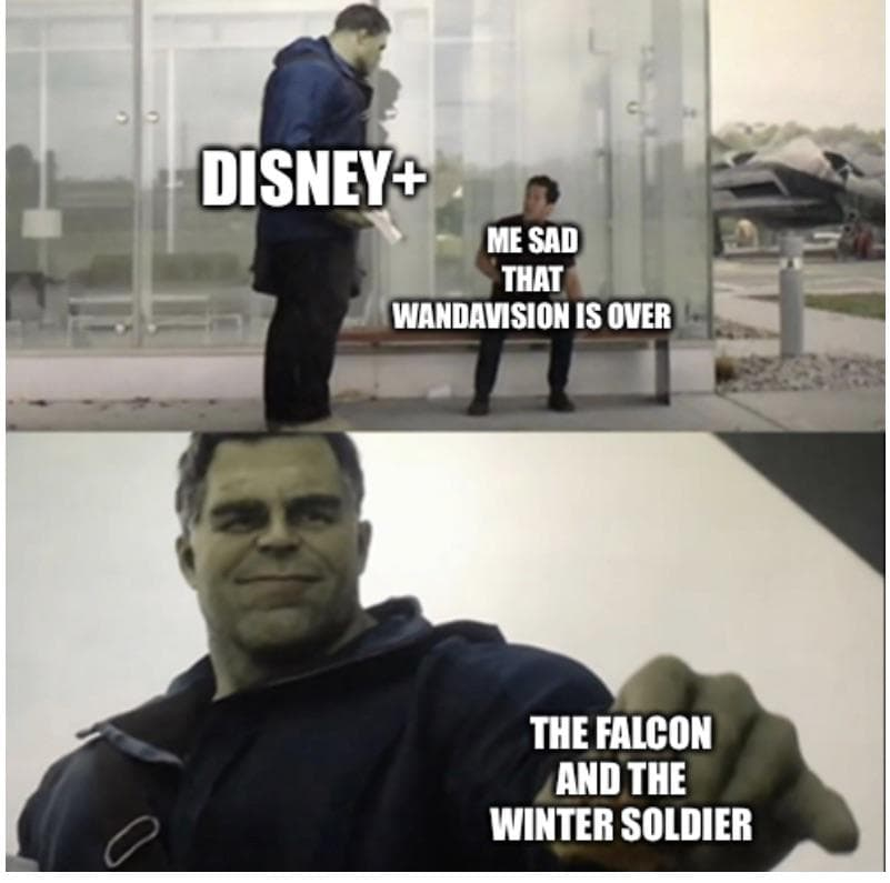 falcon and winter soldier memes hulk