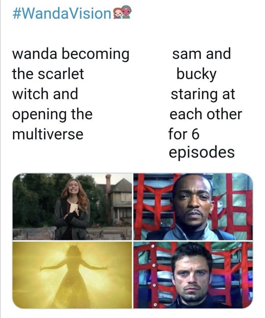 falcon and winter soldier memes staring contest