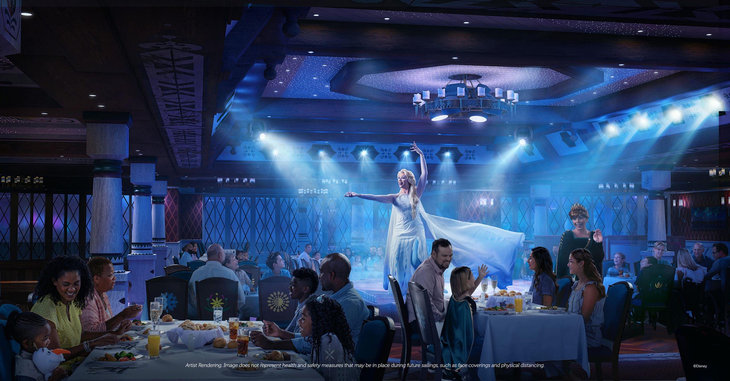 Disney Wish Dining