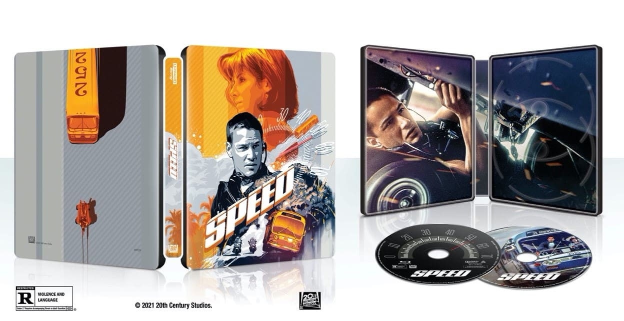 Speed 4K Ultra HD Collectors Edition