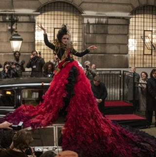 Second Cruella Trailer Red Dress