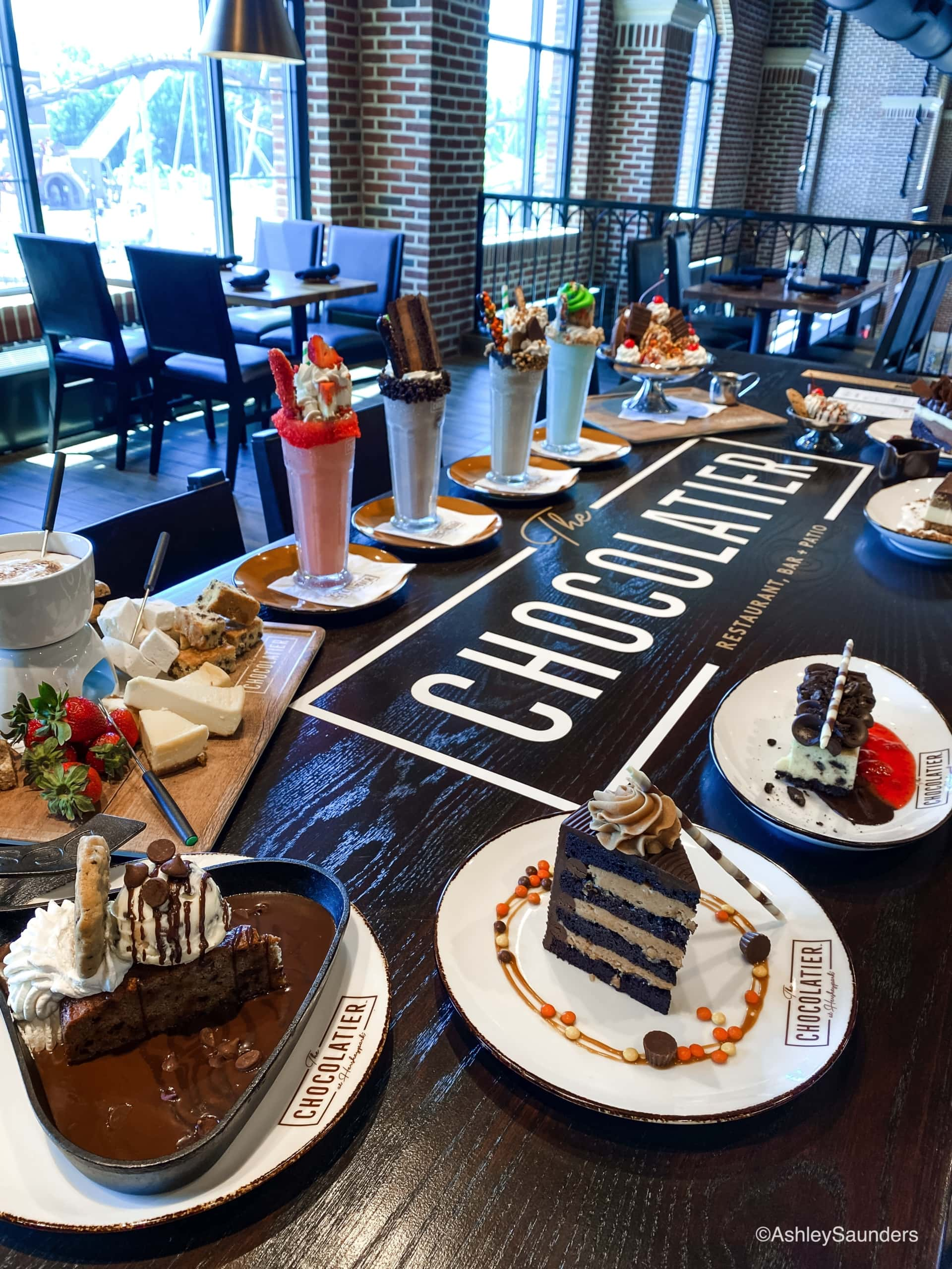 The Chocolatier Desserts
