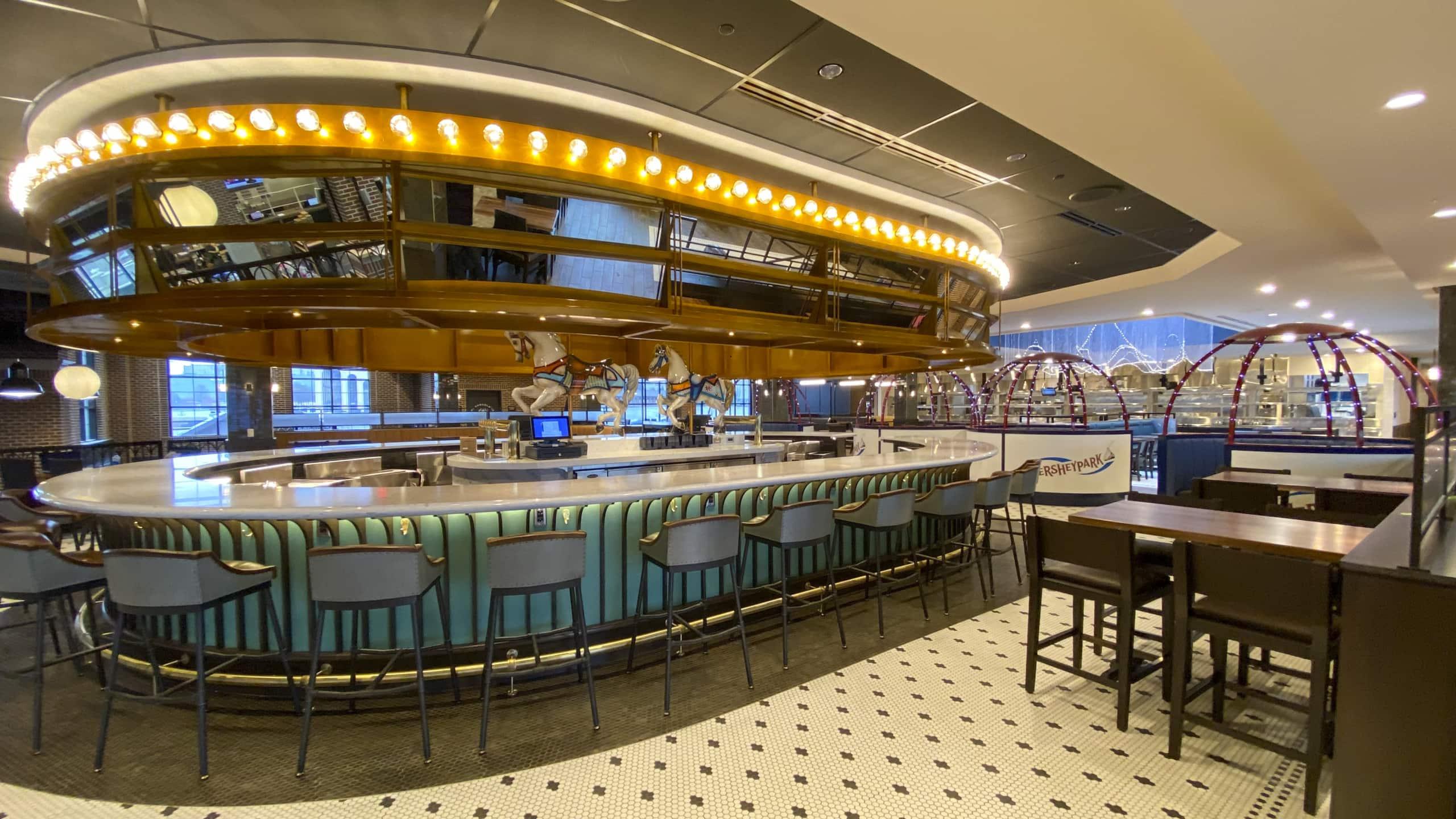 The Chocolatier Restaurant at Hersheypark