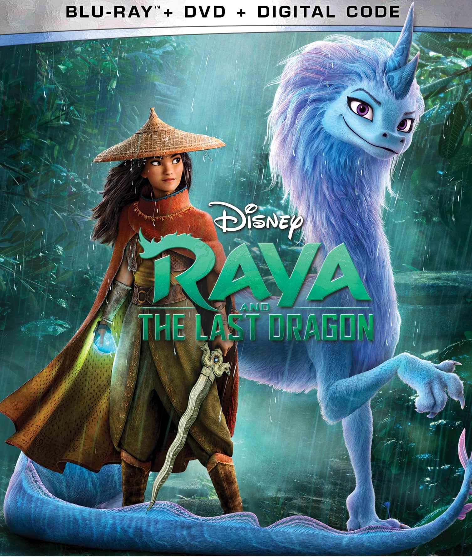 raya and the last dragon blu ray