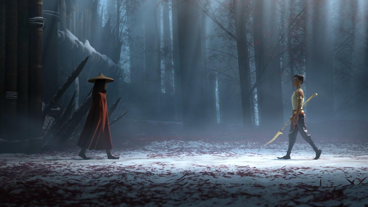 raya and the last dragon bonus features