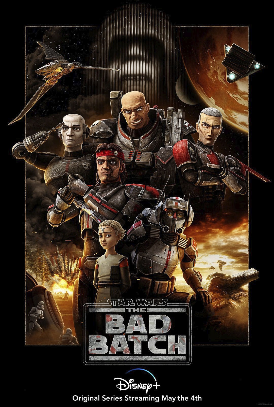 the bad batch premiere poster