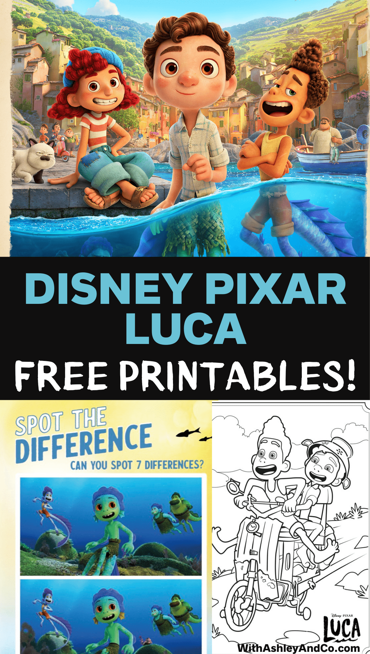 Luca Free Printables