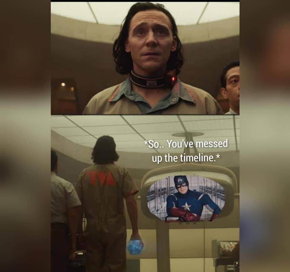 Loki Memes Captain America