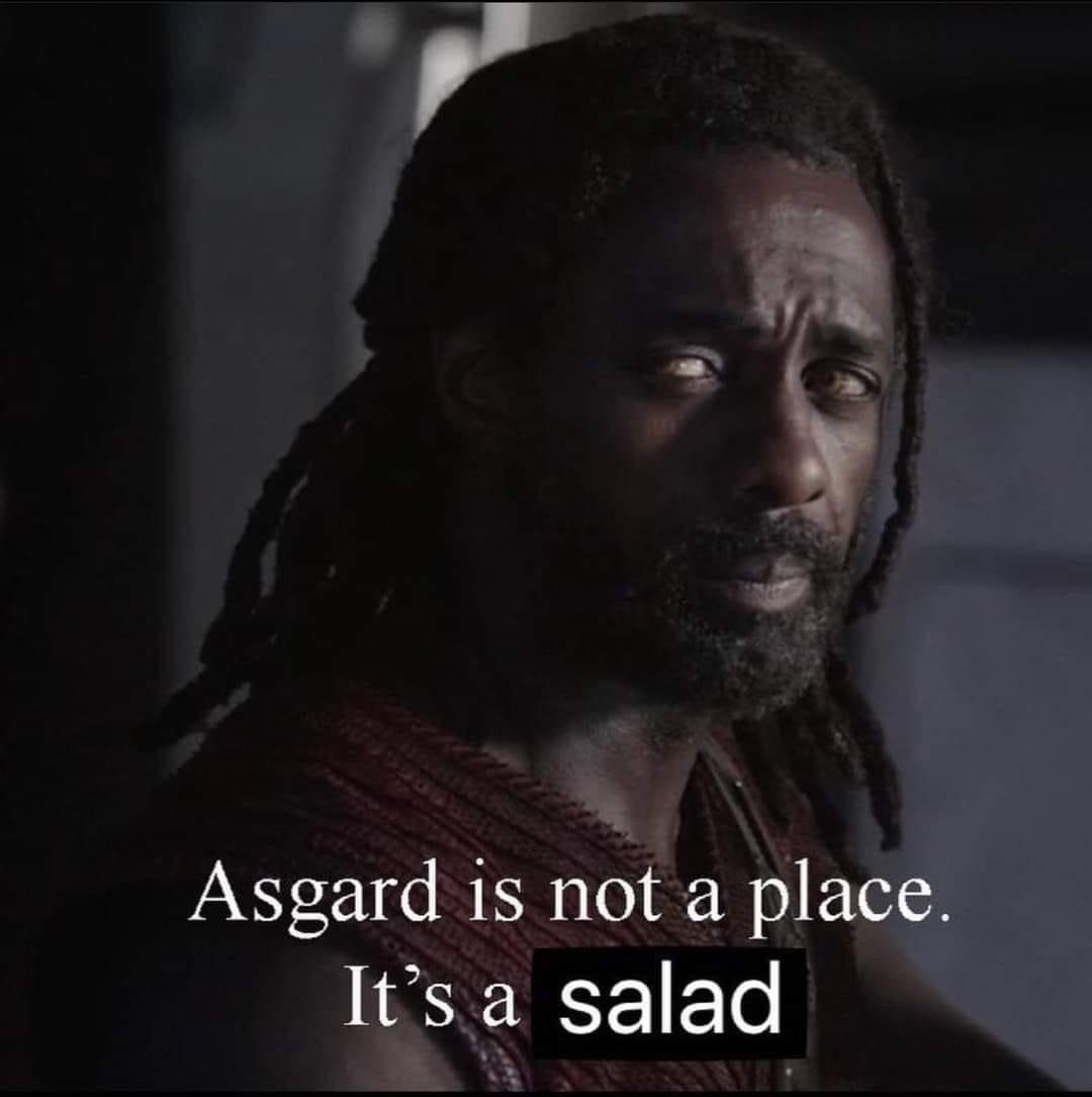 loki memes asgard salad