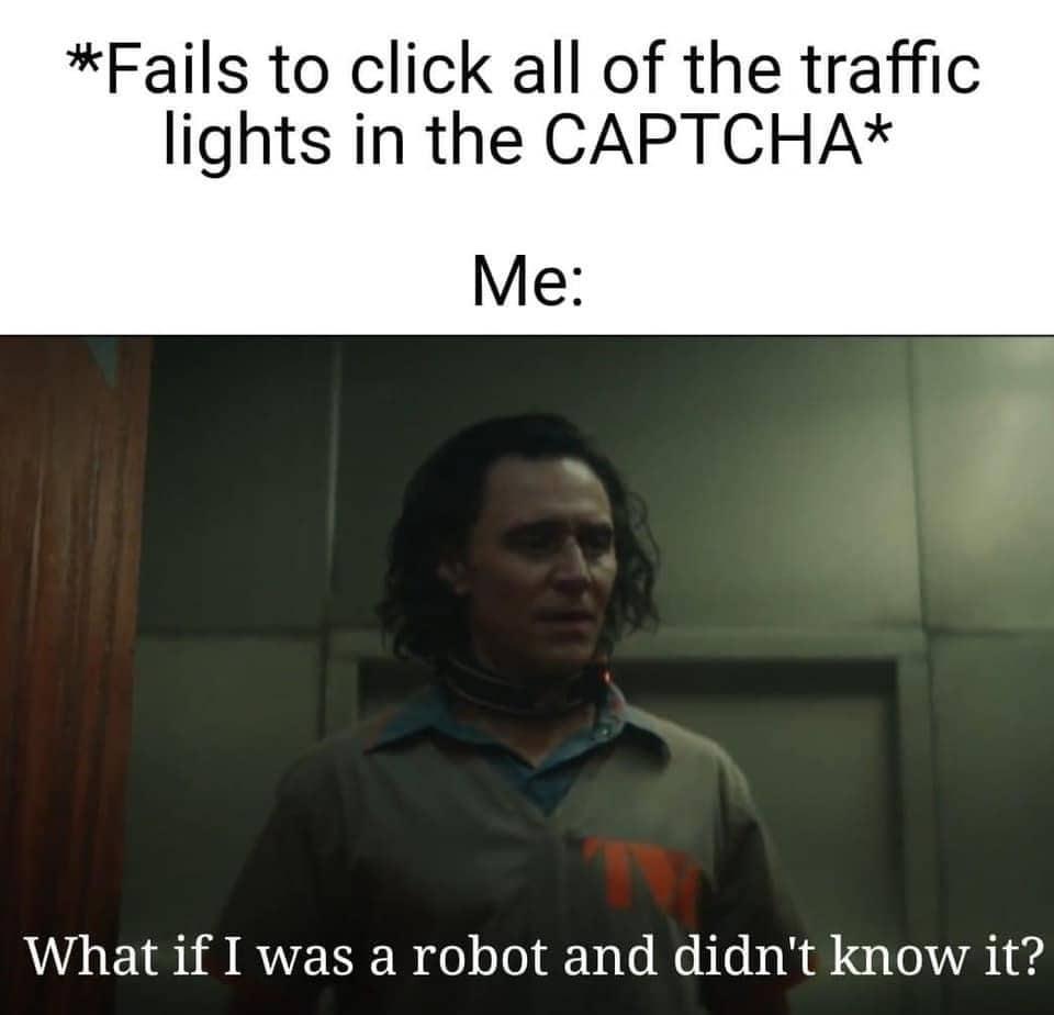 loki memes captcha