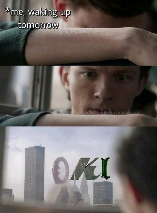 loki memes spidey sense