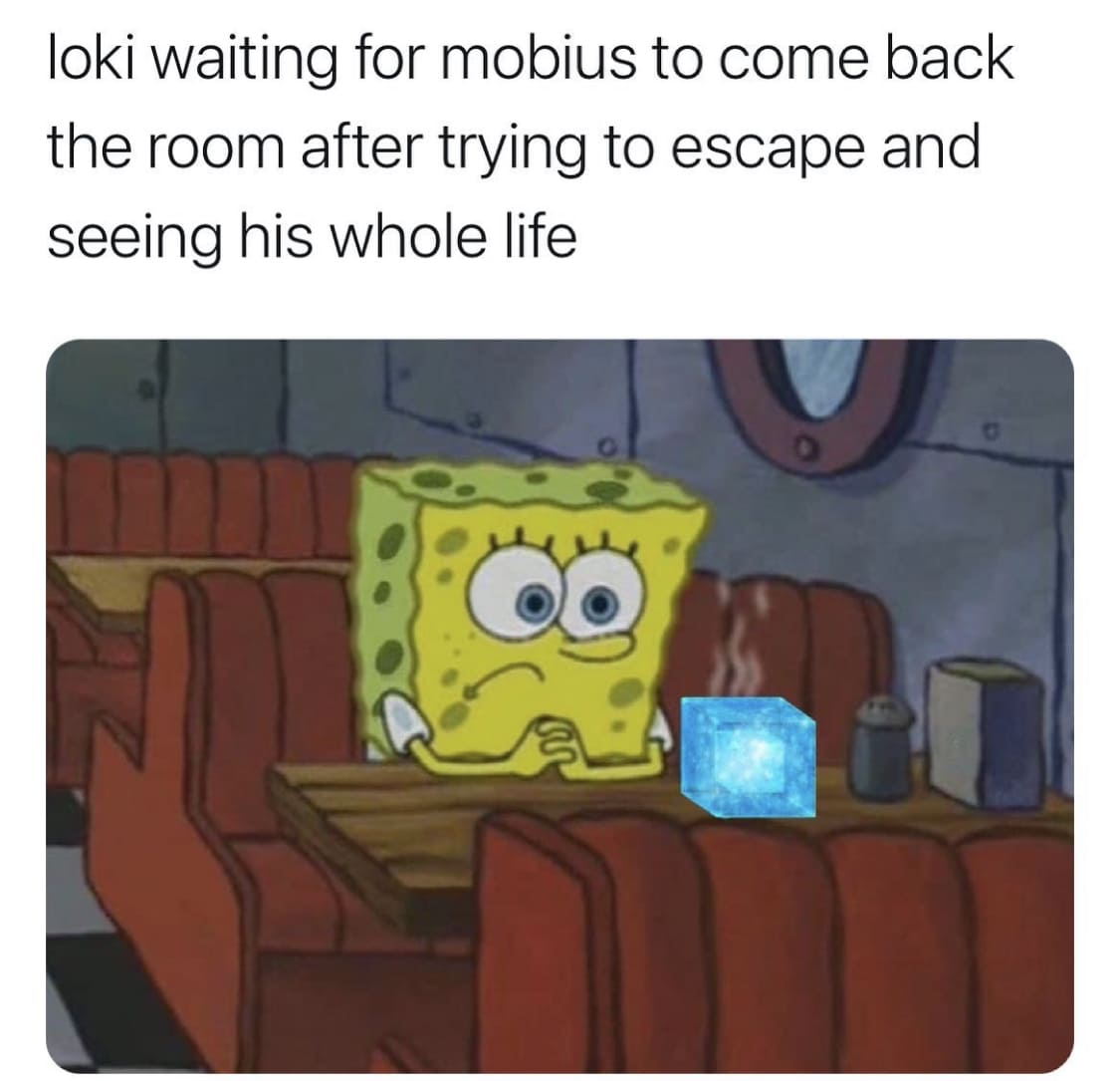 loki memes spongebob