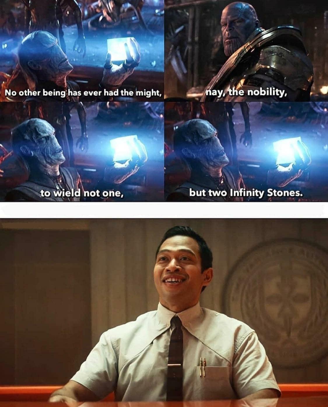 loki memes thanos