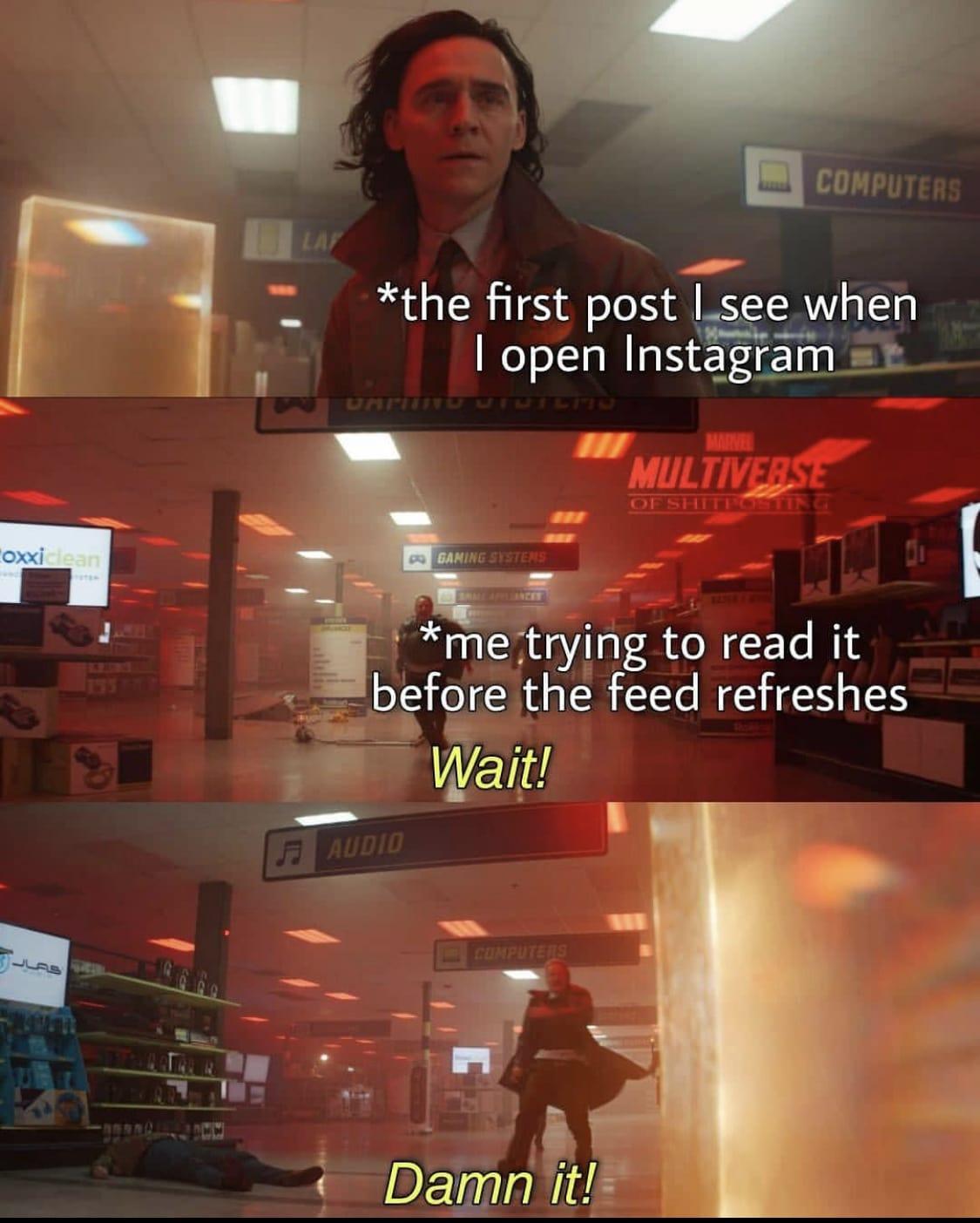 loki social media meme