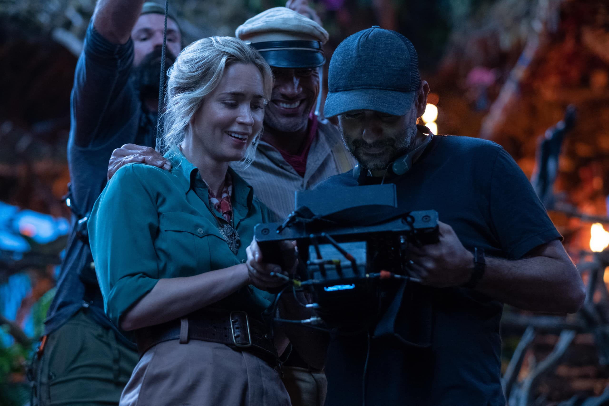 interview with Dwayne Johnson and Emily Blunt