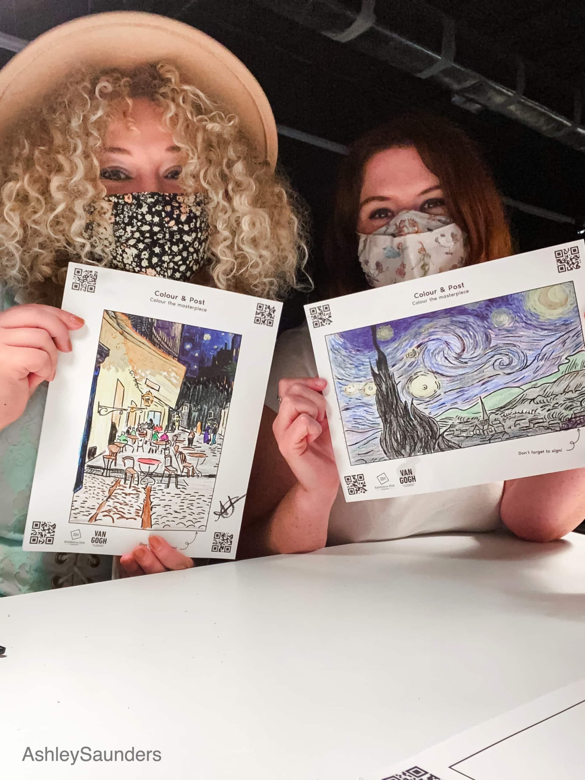 Van Gogh exhibit Review