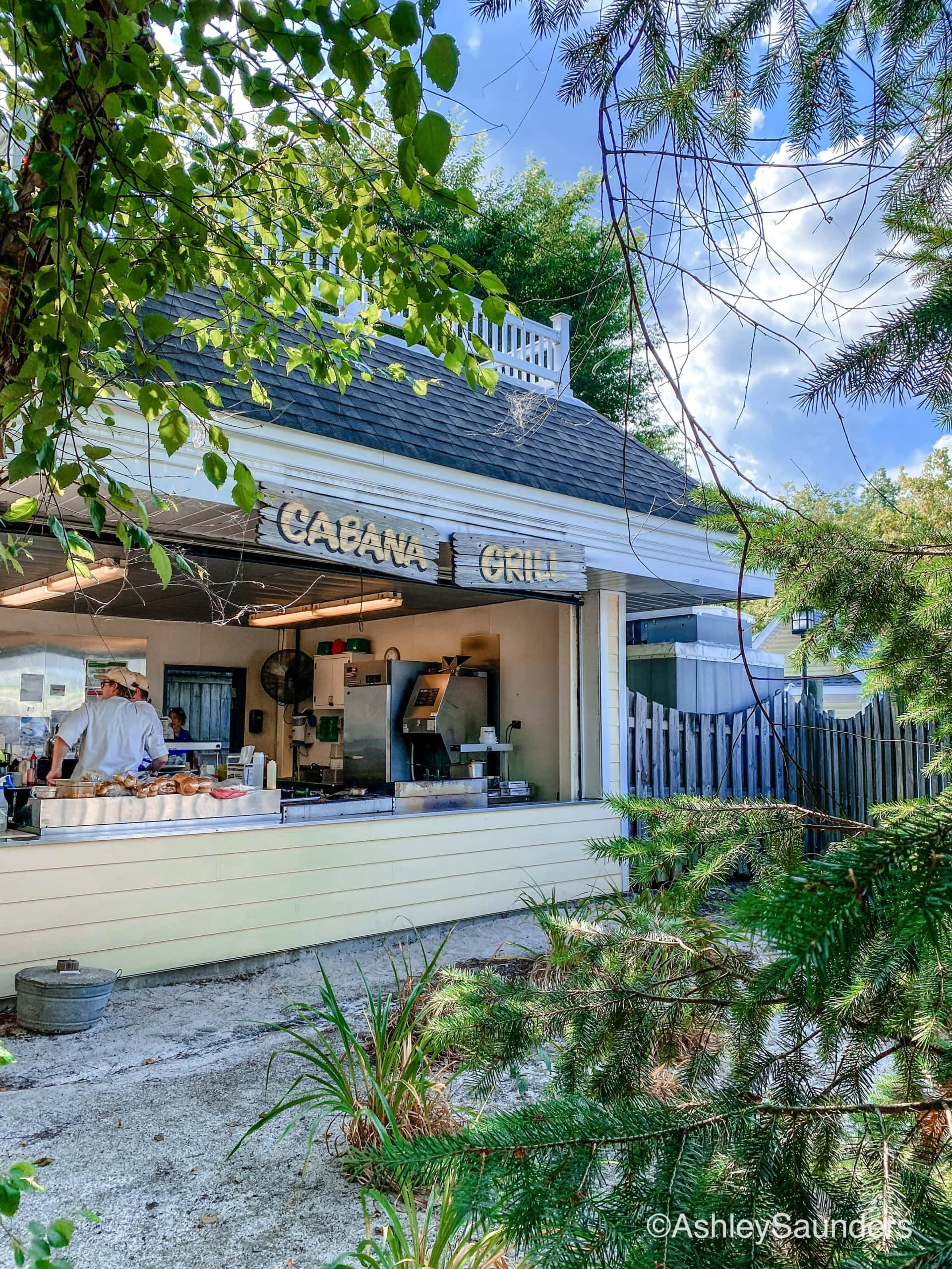 Cabanas at Hersheypark perks order food