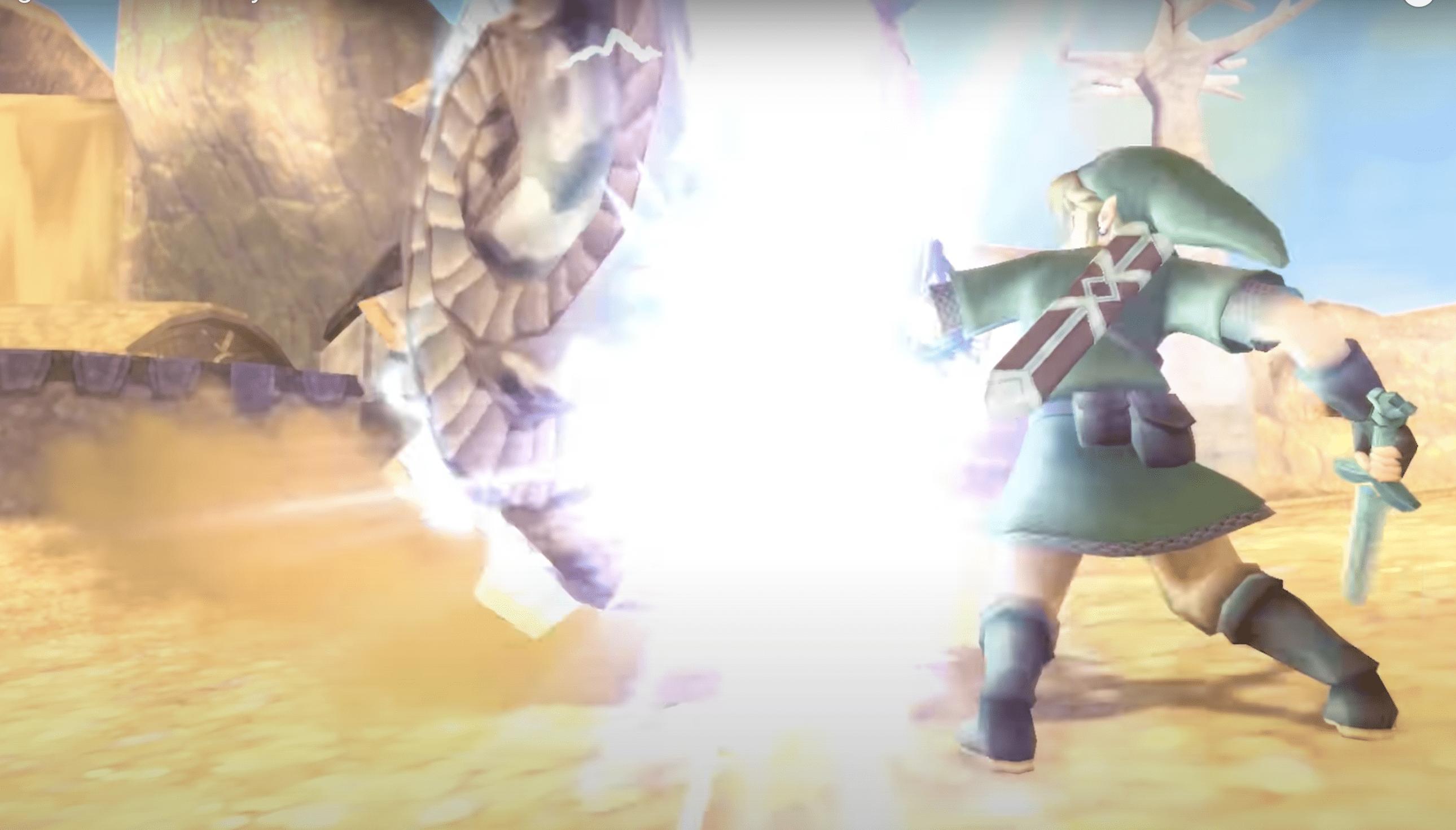 Legend of Zelda Skyward Sword HD Review Gameplay