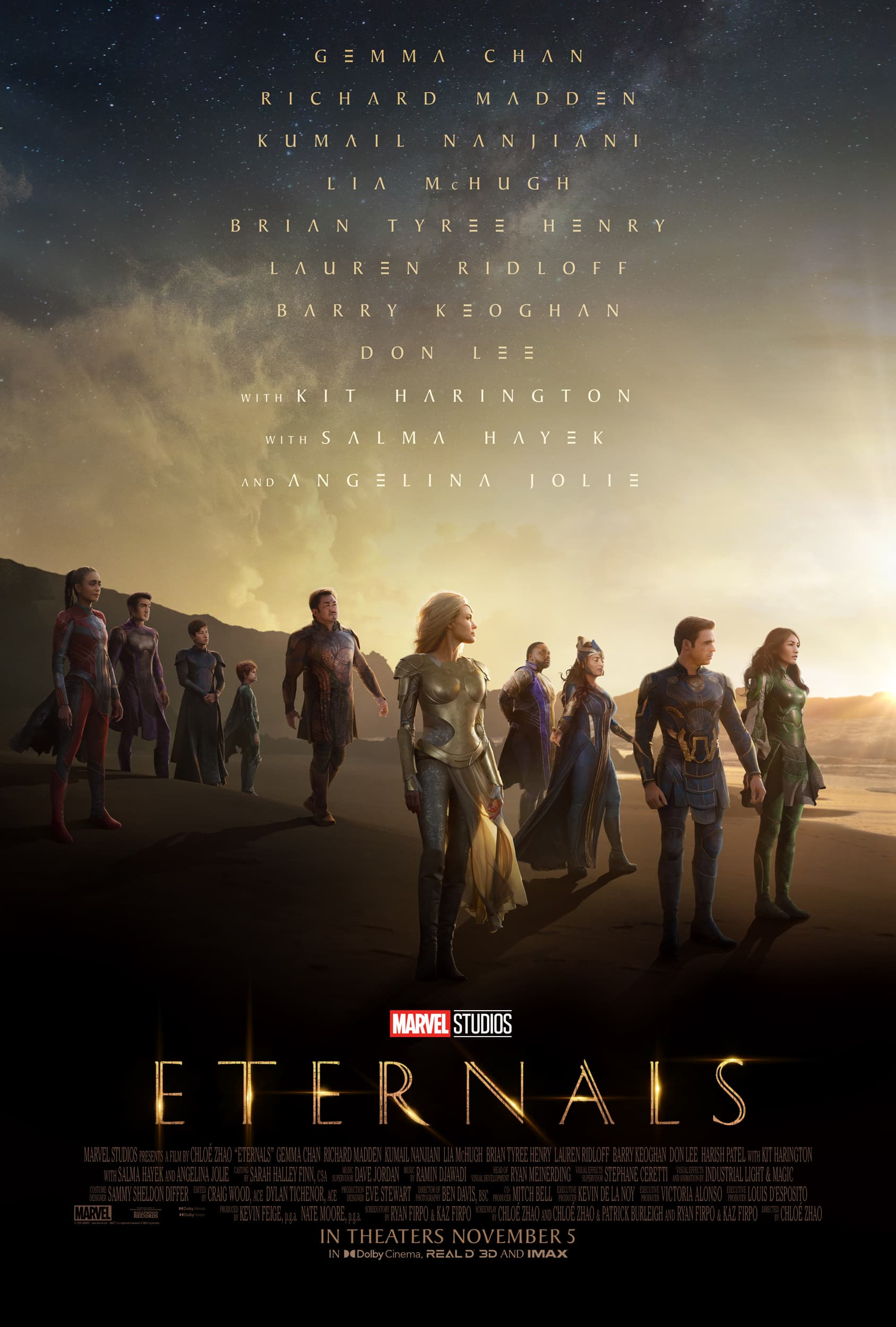 eternals new poster