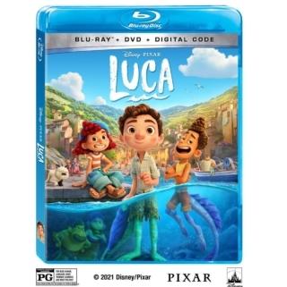 Luca blu-ray bonus features